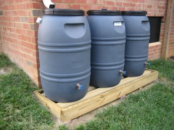 going green projects diy rain barrels